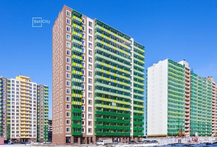 ЖК «GreenЛандия 2»: ход строительства корпуса №2.3