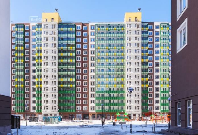 ЖК «GreenЛандия 2»: ход строительства корпуса №2.6