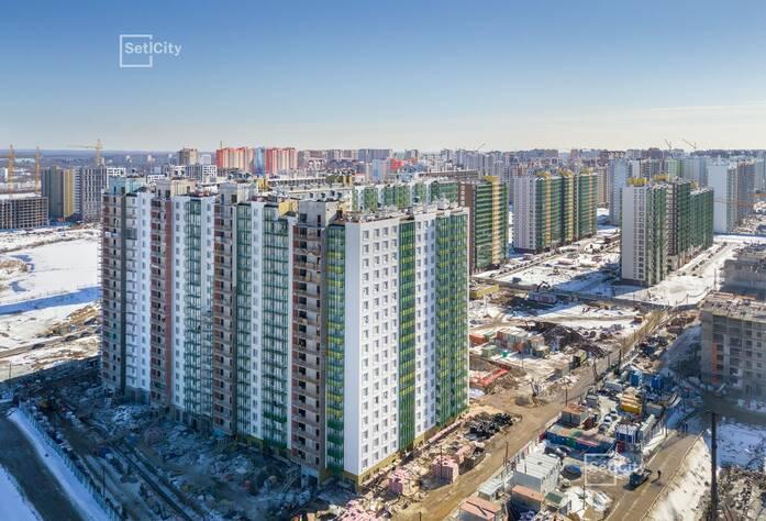 ЖК «GreenЛандия 2»: ход строительства корпуса №2.8