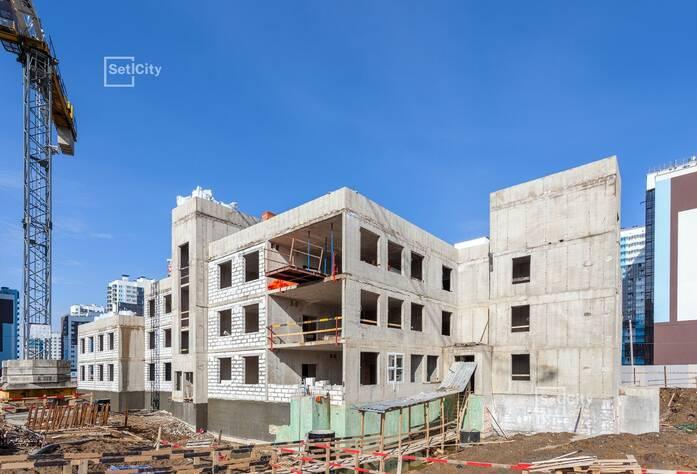 ЖК «Чистое небо»: ход строительства детского сада