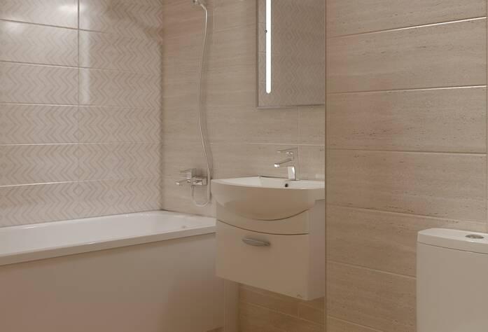 ЖК «Энфилд»: визуализация ванной(классический стиль)