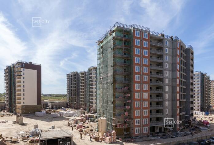 ЖК «Солнечный город»: ход строительства корпуса №6