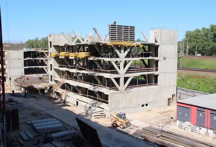 ЖК «Георг Ландрин»: ход строительства, июнь 2018
