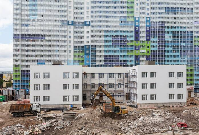 ЖК «ЗимаЛето»: ход строительства детского сада