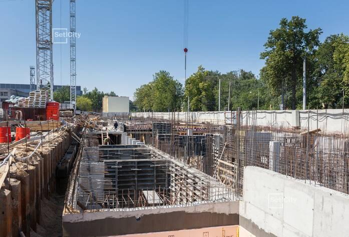 ЖК «Петровский Квартал на воде»: ход строительства корпуса №1