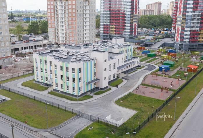ЖК «Невские Паруса»: ход строительства детского сада