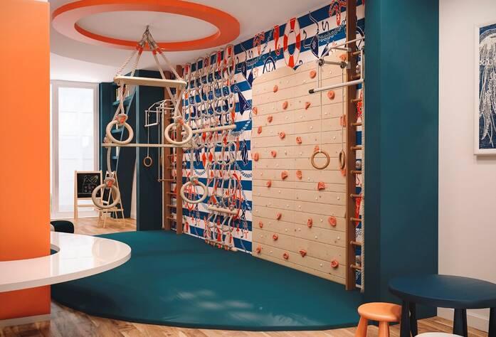 ЖК «Neva-Neva»: визуализация детской комнаты
