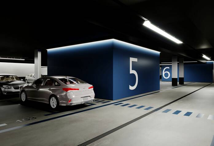 ЖК «Neva-Neva»: визуализация паркинга