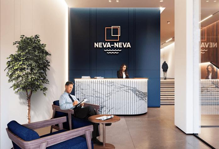 ЖК «Neva-Neva»: визуализация холла
