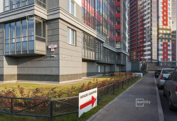 ЖК «Невские Паруса»: ход строительства корпуса №1