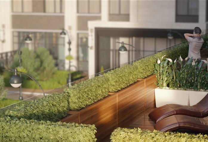 Жилой комплекс «Твин Хаус»: визуализация