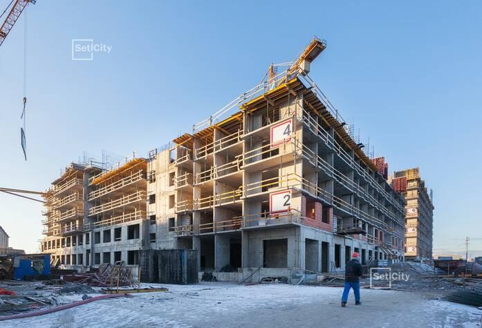 ЖК «Философия на Московской»: ход строительства корпуса №2