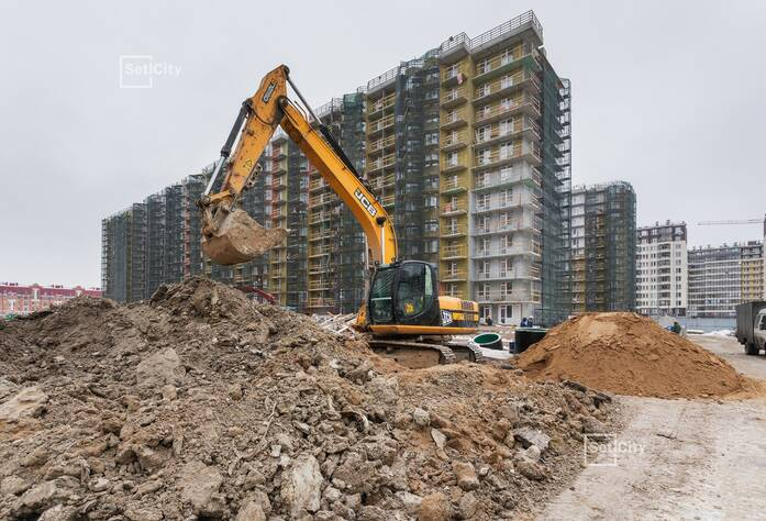 ЖК «Солнечный город»: ход строительства корпуса №7.1