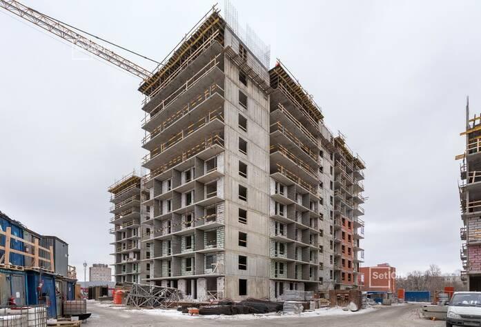ЖК «Философия на Московской»: ход строительства корпуса №3
