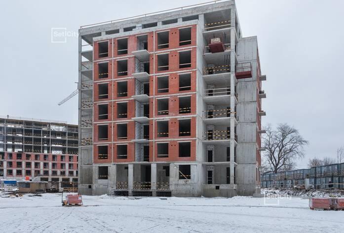 ЖК «Петровский Квартал на воде»: ход строительства корпуса №3