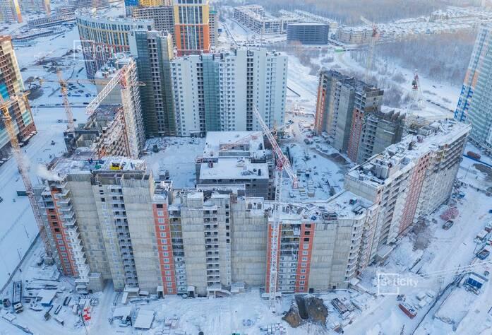 ЖК «Чистое небо»: ход строительства корпуса №6