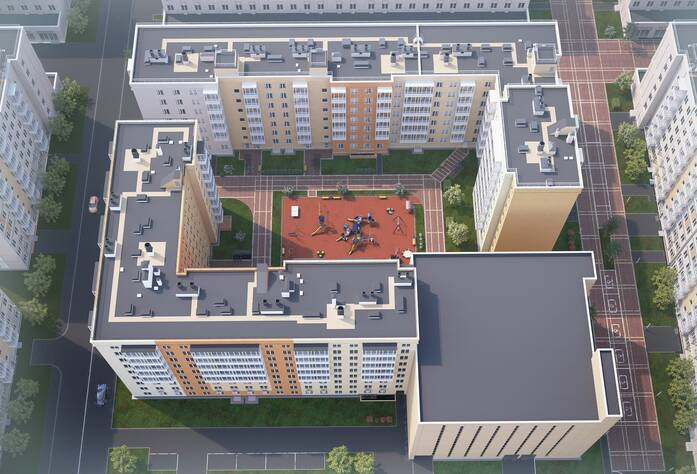 ЖК «Новоорловский»: визуализация