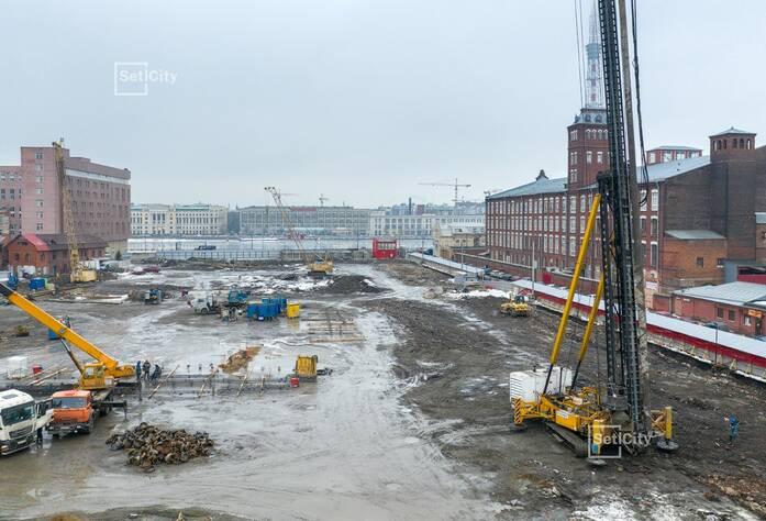 ЖК «Притяжение»: ход строительства корпуса №3