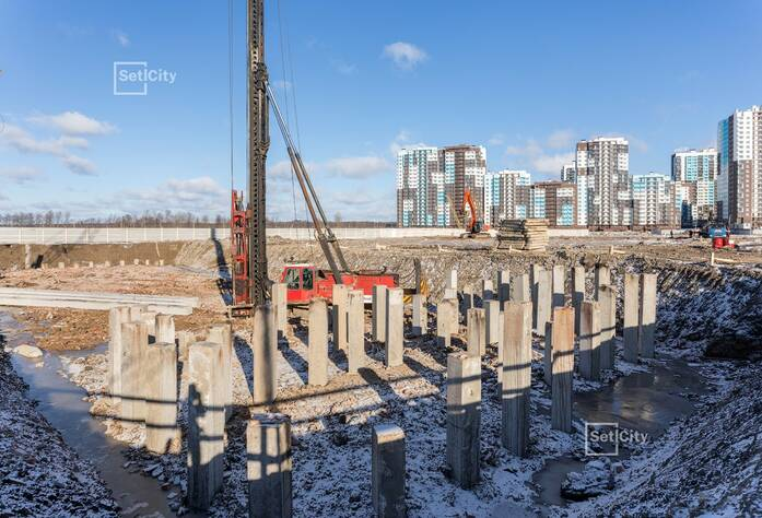 ЖК «Чистое небо»: ход строительства корпуса №8.1