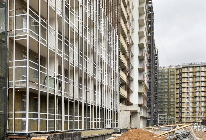 ЖК «Солнечный город»: ход строительства корпуса 7