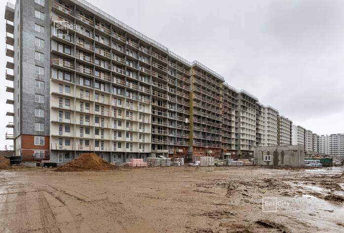 ЖК «Солнечный город»: ход строительства корпуса 8