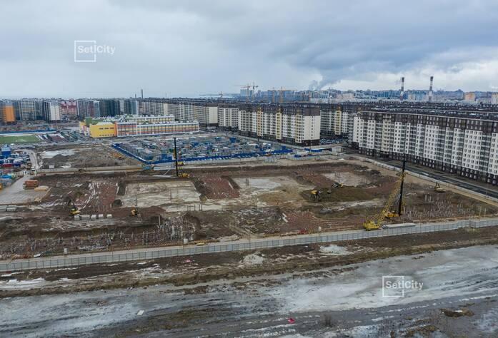 ЖК «Солнечный город»: ход строительства корпуса 10.1