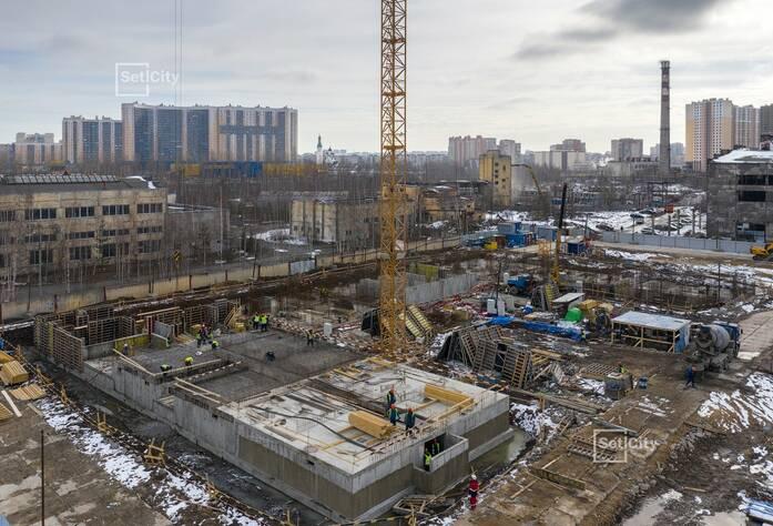 ЖК «Pulse на набережной»: ход строительства корпуса №3