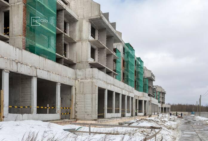 МЖК «Зеленый квартал»: ход строительства корпуса №1