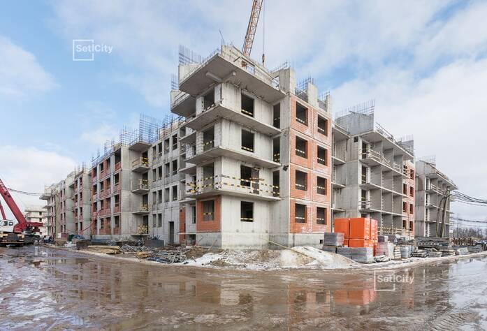 МЖК «Зеленый квартал»: ход строительства корпуса №2