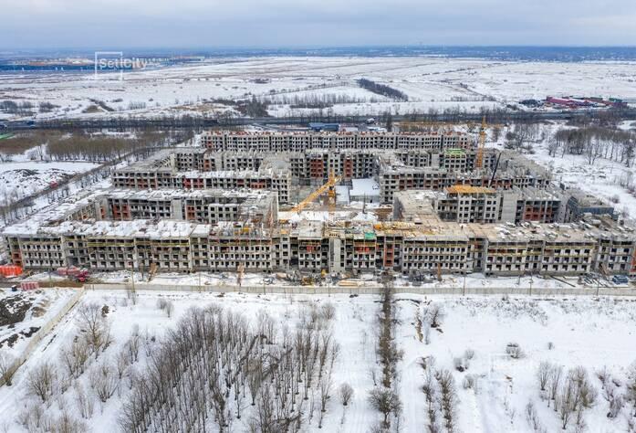 МЖК «Зеленый квартал»: ход строительства корпуса №3