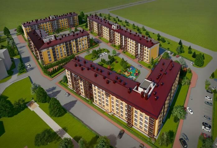 МЖК «Образцовый квартал 6»: визуализация