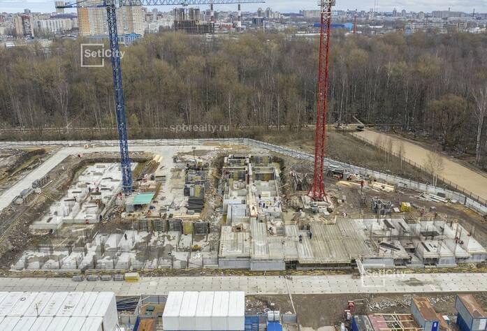 МФК «ArtLine в Приморском»: ход строительства гостиницы №1