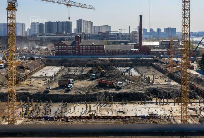 ЖК «Pulse на набережной»: ход строительства корпуса №1