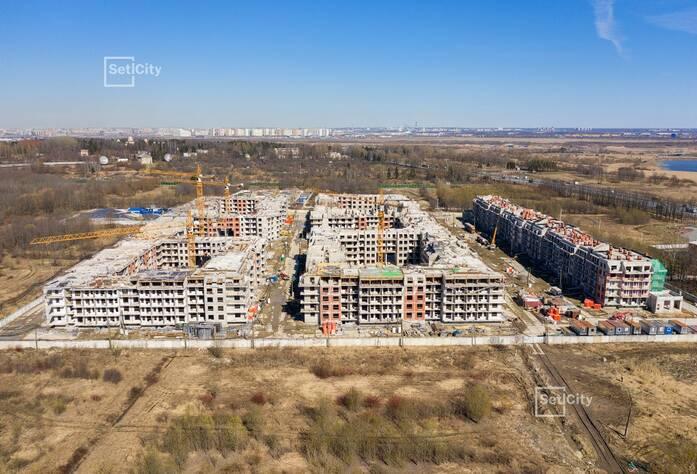 МЖК «Зеленый квартал»: ход строительства 1 очереди, корпус №2