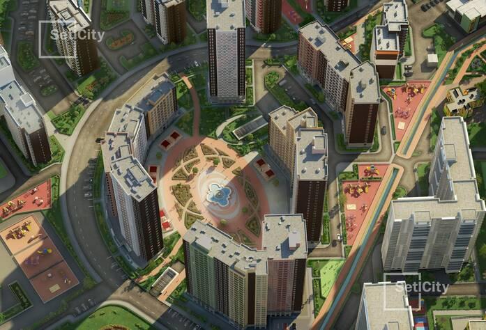 ЖК «Семь столиц»: визуализация