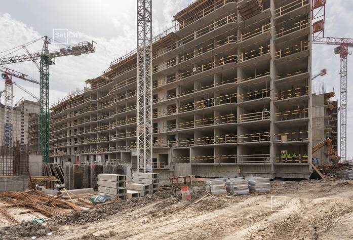 ЖК «Чистое небо»: ход строительства корпуса №7.3