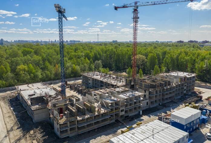 МФК «ArtLine в Приморском»: ход строительства апартаментов №1