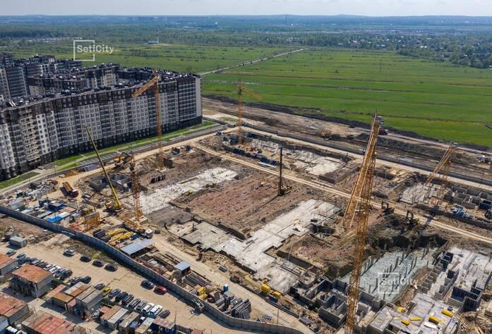 ЖК «Солнечный город»: ход строительства корпуса №10.1