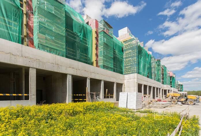 МЖК «Зеленый квартал»: ход строительства 1 очереди, корпус №1