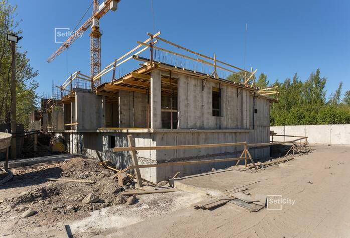 МЖК «Фортеция. Жизнь на побережье»: ход строительства корпуса №2