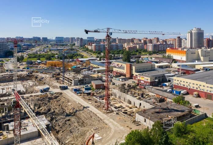 МФК «ArtLine в Приморском»: ход строительства апартаментов №2