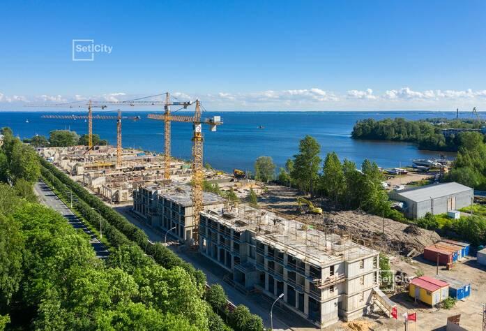 МЖК «Фортеция. Жизнь на побережье»: ход строительства корпуса №1