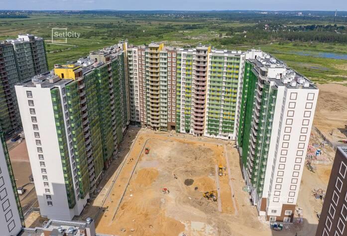 ЖК «GreenЛандия 2»: ход строительства дома №2.13