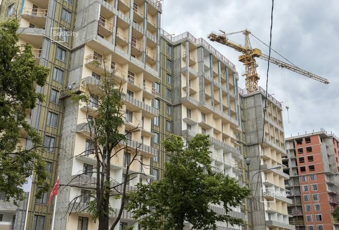 ЖК «Облака на Лесной»: ход строительства дома №2