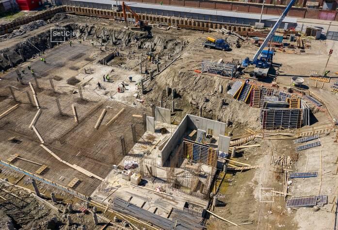 ЖК «Притяжение»: ход строительства корпуса №1