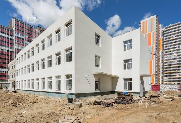 ЖК «Семь столиц», квартал Лондон: ход строительства детского сада №5