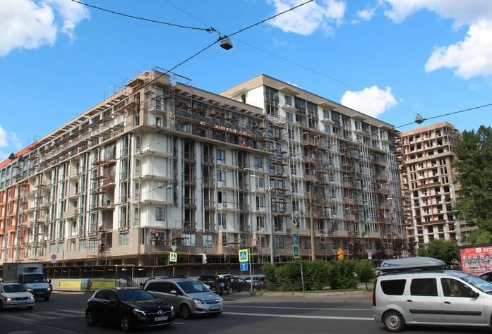 ЖК «Георг Ландрин»: ход строительства, июль 2019