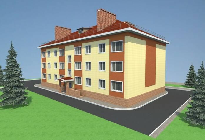 ЖК «Дом в поселке Глажево»: визуализация