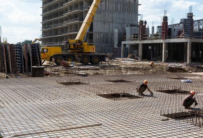 ЖК «Q-мир»: ход строительства, июль