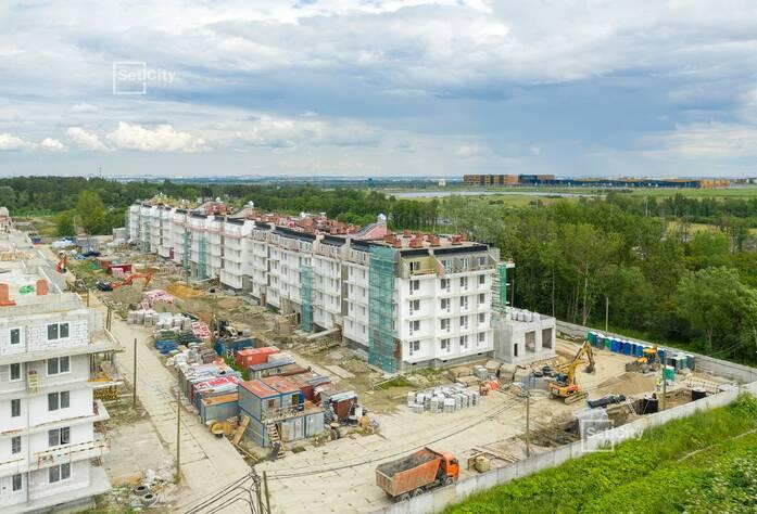 МЖК «Зеленый квартал»: ход строительства корпуса №1.1